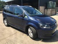 2011 VW TOURAN 1.6 TDI SE
