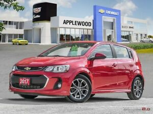 2017 Chevrolet Sonic LT Auto RS, SUNROOF, 1.4L TURBO, HEATED...