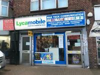 LOCK UP SHOP TO LET 722 GREEN LANES GOODMAYES RM8 1YX £1,000 pcm