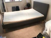 Small Double Bed & Memory Foam Mattress