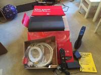 Virgin TiVo Box and Router