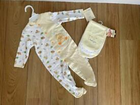 BNWT 9 months baby gro and little layette