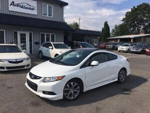 2012 Honda Civic Coupe Si + Navi