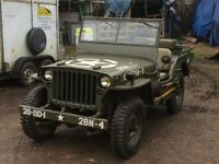 WANTED WILLYS MB/FORD GPW/HOTCHKISS M201