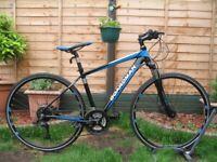 BOARDMAN Sport Hybrid Mountain Bike. 700C wheels. 18''fr. Disc Brakes. 27speed. Excellent condition