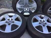 Audi Alloy Wheels and Winter Tyres