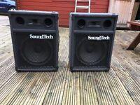 Soundtech speakers