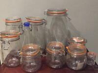 Various Storage Jars etc
