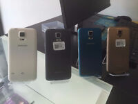 SAMSUNG S5 16GB AS NEW CONDTION UNLOCKED WITH RECEIPT AND WARRANTY