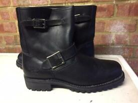 CAT Leather Work boots wide fit size 11