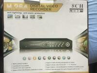 H.264 CCTV DVR 8 CHANNELS 1TB