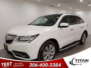 2016 Acura MDX Elite|7 Pass|AWD|CAM|DVD|Leather