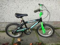 Magna imposter bike, 16 inch wheels, suit age 5 to 7 years old