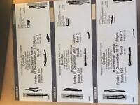 Gorillaz Tickets x 3 Manchester 1st December 2017. Block 104 Row B