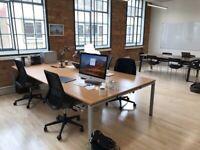 4 positions professional office workstation desk table Gentoo bulk connex