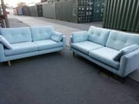 DFS sofas 3&3 seater