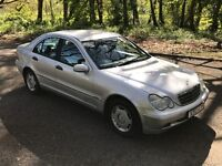 2001 MERCEDES C180 CLASSIC SILVER !!!LOW MILAGE 71K!!!