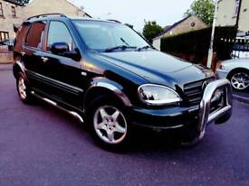 Mercedes ml 270 cod engine and gearbox is perfect No mot offers low miles 114000