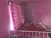 Double bed for sale with mattrass