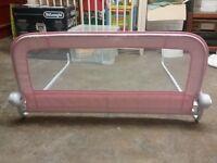 Mothercare Safest Start Bed Guard - Pink