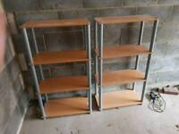 Two set of shelves