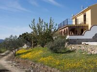 Long term rent of country paradise in Southern Spain, off grid, no bills to pay!