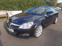 Vauxhall Astra 1.8 i Design Twin Top 2 Door, 12 Months MOT, Cruise Control, Start Stop Button