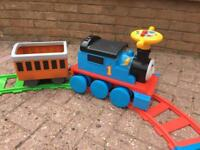 Thomas & friends battery operated ride on train and track