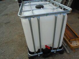 water tank 600 litre tank