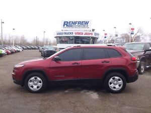2014 Jeep Cherokee 4x4 Cold Weather/V6/Cam