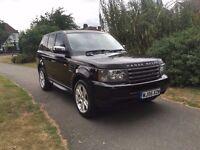 Land Rover Range Rover Sport 2.7 TD V6 S 5dr Long mot, genuine miles