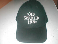 OLD SPECKLED HEN BASEBALL CAP.NEW.BLACK.ONE SIZE. £6.00