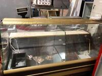 Cebea Long Slim Serve Over Counter/Display Fridge