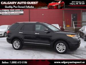 2013 Ford Explorer XLT 4WD/NAVI/B.CAM/3RD ROW/LEATHER