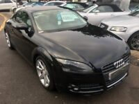 2007/57 AUDI TT 2.0 TFSI 3DR BLACK,STUNNING CONDITION, GREAT SPEC,LOOKS AND DRIVES REALLY WELL