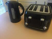 Matching kettle and toaster like new