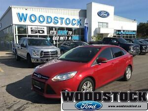 2012 Ford Focus SEL, LEATHER, ROOF