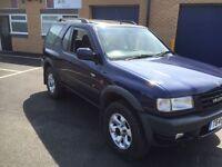 1999 Vauxhall frontera 2.2 sport 4x4