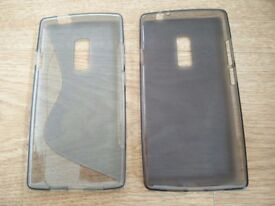 2 x USED One plus 2 phone silicone cover