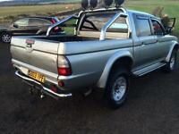 MITSUBISHI L200 WARRIOR 4X4 PICK UP £2400