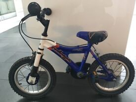 """Children's Raleigh bike with 14"""" wheels. Lovely first bike 4-6yrs Good condition."""