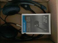 Sennheiser SC 260 Binaural Corded Headset - Never Used