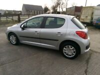 2006 Peugeot 207, 1.4S, 5 Door, MOT until August.