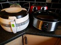 Tefal Airfryer and slow cooker