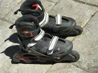 Pair of Oxelo In Line Skates – Size 36-38