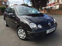 2004 Volkswagen Polo 1.2 SE 3dr, Low Miles, Full Service History, Ideal 1st Car, Mot Till Feb 2017