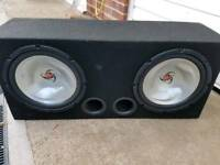 Complete car audio install