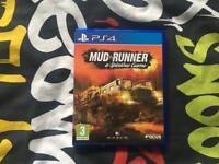 MUD RUNNER PS4 Like New