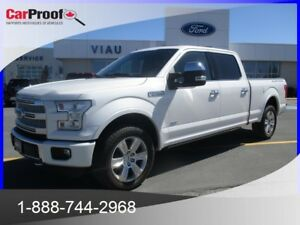 2015 FORD F-150 4WD SUPER CREW 157'' WB PLATINUM*CUIR*TOIT PANOR