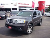 2012 Honda Pilot Touring | LEATHER | SUNROOF | ALLOYS | NAVI